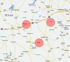 lipan map ufos lights in the sky dublin ranger and lipan ufo