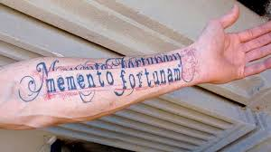 old latin tattoo fonts permanent marks typographic tattoos and their stories