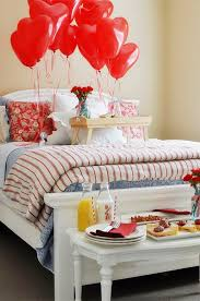 Table Decoration For Valentine S Day by Table Decoration Ideas Valentines Day Red Heart Balloons Breakfast