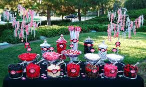 Blue Chip Casino Buffet by Poker Tournament Fundraiser Candy Buffet Red And Black Themed