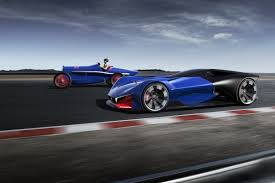 futuristic sports cars peugeot indy 500 race car concept is a futuristic thriller maxim