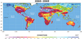 Mexico Central America And South America Map by Drought And New Deserts By 2060 Most Of Mexico Central America