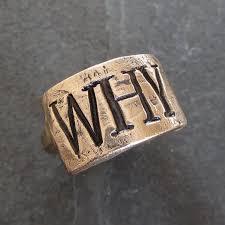 mens monogram ring rustic monogram ring in bronze or sterling silver unisex initial