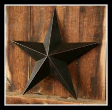 country star decorations home black barn star decor 12