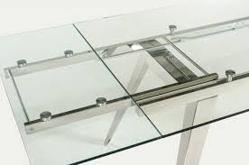 dining room tables expandable expandable glass dining room tables expandable glass and wood