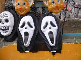 Scream Halloween Costume Eve Guaranda Ecuador Año Viejo Effigies