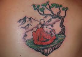 30 peaceful buddhist tattoos creativefan