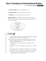 Rational Or Irrational Numbers Worksheet Ordering Rational Numbers Worksheet Worksheets For Dropwin