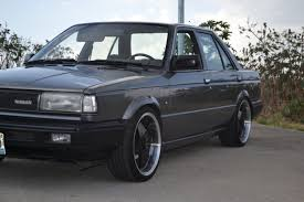 nissan sentra b12 low stance jdm import old pinterest