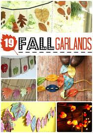 fall garland easy fall garland diy ideas ted s