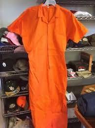 orange jumpsuit inmate prisoner convict prison orange jumpsuit 5xl ebay