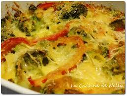 cuisine samira gratin gratin de brocoli et poivron au curcuma cuisine