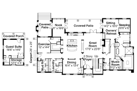 mediterranean house plan rossano 30 569 by associated designs