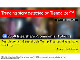 ret lieutenant general calls thanksgiving remarks insulting