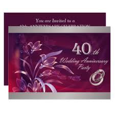 40 year anniversary gift 40 year anniversary gifts on zazzle