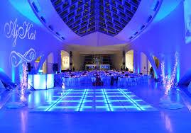 led floor rental platinum dj services selection