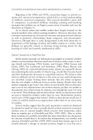 how to write an action research paper in education math 3 cognitive foundations for early mathematics learning page 61
