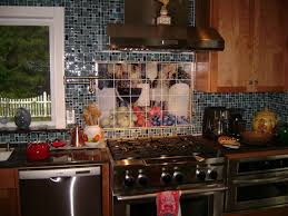 tile murals for kitchen backsplash kitchen tile murals pacifica tile studio