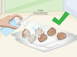 how to clean pine cones 12 steps with pictures wikihow