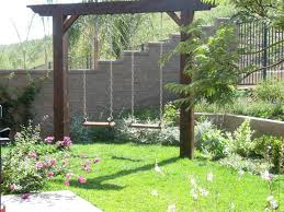 Backyard Ideas Pinterest Family Garden La Costa U2014 Swing Landscaping Ideas Pinterest