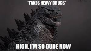 Godzilla Meme - meme stoned highschool graduate godzilla by mmdcharizard on deviantart