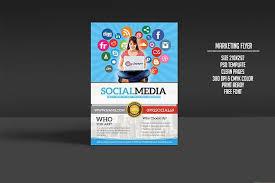 social media brochure template social media poster template social media flyer template social