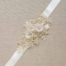 wedding sashes and belts chagne wedding belt sash flower bridal belt sash lace wedding