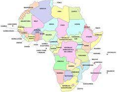 mapa de africa mapa de africa language and africa