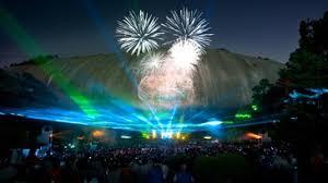 stone mountain laser light show atlanta s stone mountain park new tricks drones added to laser show