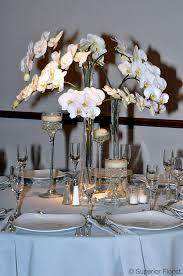 orchid centerpiece superior florist event florals centerpieces