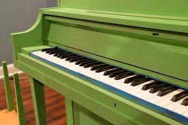 Green Paint Green Painted Piano Annie Sloan Chalk Paint East Coast