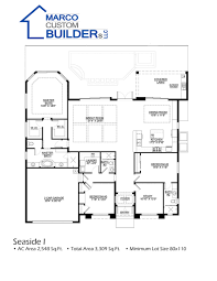 custom floor plan bayview