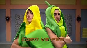 Corn Halloween Costume Step Halloween Battlez Pea Pod James Corn