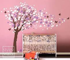 Cherry Blossom Wall Decal For Nursery Cherry Blossom Tree Wall Decal Nursery Together With Flower Tree