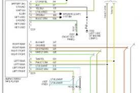 2004 ford explorer radio wiring diagram wiring diagram