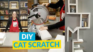 diy cat scratching post youtube