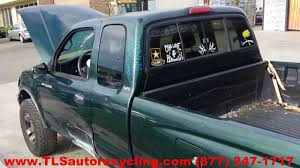 lexus tacoma parts parting out 1999 toyota tacoma stock 4024br tls auto recycling