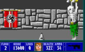 Wolfenstein 3d Maps 8 Bit City Wolfenstein 3d Review Resources And Dos Vs Gba