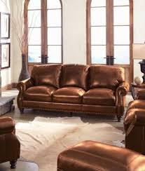 Simon Li Leather Sofa Chestnut Leather Sofa U2013 La Verona Chestnut Leather Reclining Sofa