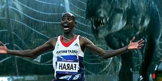 Meme Mo - olympic chion mo farah runs away from things becomes a meme
