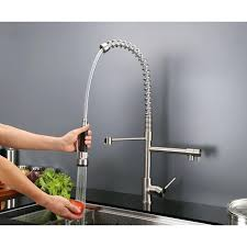 Industrial Kitchen Faucets Stainless Steel Commercial Kitchen Pre Rinse Sink Sprayer U2013 Second Floor