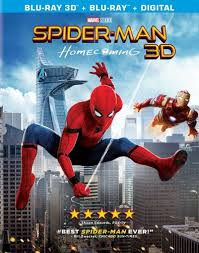 spider man homecoming 3d includes digital copy blu ray 2017