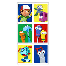 handy manny stickers 4 count 1636563
