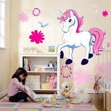 enchanted unicorn enchanted unicorn giant 96cm bedroom wall these enchanted unicorn giant wall decals give any space a mystical look and feel