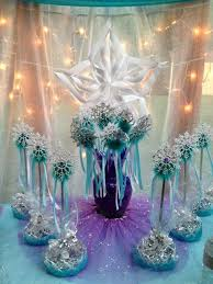 frozen centerpieces the princess birthday inspired by disney s frozen