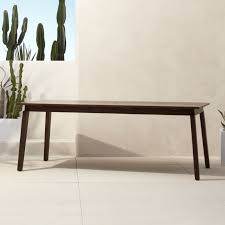 Wood Dining Table With Bench And Chairs Unique Modern Dining Tables Cb2