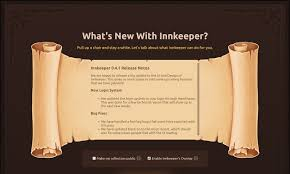 stuck on this screen i can u0027t start innkeeper innkeeper feedback