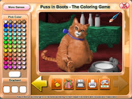 puss boots coloring game game download pc mac