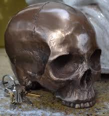 skulls skull mirror skulls and skull toilet brush from