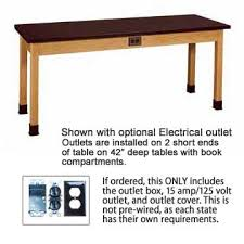diversified woodcrafts chemguard top hardwood science lab table